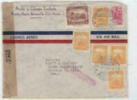 colombia 1942  to united states censor  stamps cover ref r15469