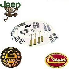 Drum brake hardware parts kit Jeep CJ 78-86 XJ Cherokee YJ Wrangler 4636777