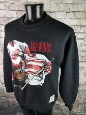 Vtg 90s 50/50 Detroit Red Wings Crewneck Sweatshirt Nutmeg Mills Mens Medium NHL