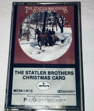 The Statler Brothers  Christmas Card Music Cassette 1S