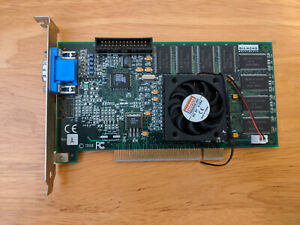 Diamond Monster Fusion (3DFX Voodoo Banshee) PCI Graphics Card – Not Working