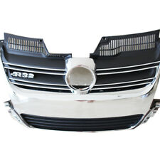 Euro Style Car Front Aluminium Bright Sliver Grille for 06-09 MK5 VW Golf R32