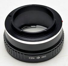 OM-NEX Adapter Für Olympus OM Lens Zu Sony NEX Mount NEX-5 NEX-3 NEX5 NEX3 VG20