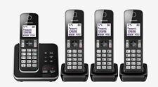 Panasonic KX-TGD624 Quadruple Digital Cordless Answering System