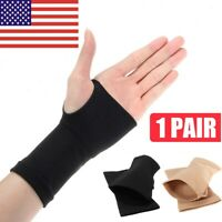 2X Thumb Hand Wrist Brace Carpal Tunnel Support Arthritis Compression Bandage US