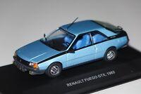 Renault Fuego 1982 blau met 1:43 Solido 143639 neu & OVP