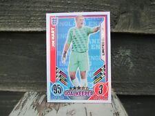Match Attax euro 2012 Joe Hart Inglaterra Edición Limitada Como Nuevo