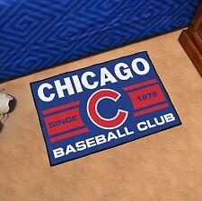 "Chicago Cubs Uniform Inspired 19"" X 30"" Starter Area Rug Floor Mat"