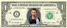 James Bond 007 - Daniel Craig {In Color} Crisp, New Dollar Bill  - REAL MONEY
