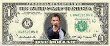 James Bond 007 - Daniel Craig {In Color} Crisp, New Dollar Bill  - REAL MONEY