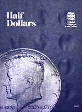 Whitman Kennedy Half Dollar Coin Folder Plain #9045