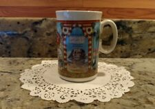 ONE 1992 WATKINS HERITAGE COLLECTION EGYPTIAN BOUQUET TALCUM POWDER COFFEE MUG