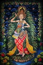 Goddess Traditional Acrylic Painting on Canvas