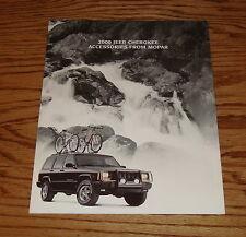 Original 2000 Jeep Cherokee Accessories From Mopar Sales Brochure 00