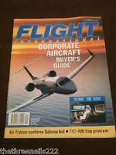 FLIGHT INTERNATIONAL # 4287 - CORPORATE AIRCRAFT BUYER'S GUIDE - OCT 2 1991