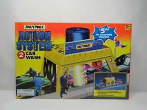 Rare Matchbox 1995 Action System Car Wash New In Box