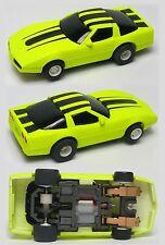 1987-90 TYCO 440-X2 Zero Gravity Florescent Cliff Hanger 1983 Corvette Rare 7059