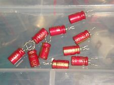 10 X MADE IN JAPAN ELNA RED CERAFINE 22uF 16V FOR AUDIO ELECTROLYTIC CAPACITOR