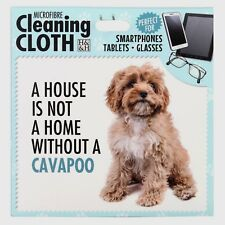 Cavapoo Microfibre Cleaning Cloth For Tablet Phone Glasses Dog Lovers Gift
