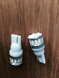 18 LED T10 CREE WHT XENON HID SIDELIGHT Bulbs Kawasaki ZZR1400 ZX10R ZX6R Z1000