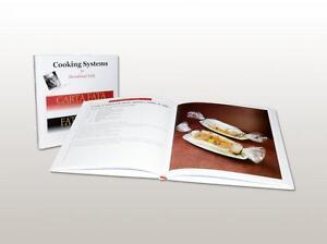 CARTA FATA® COOKING SYSTEM, RICETTARIO LIBRO CUCINA CHEF TACCHELLA