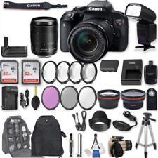 Canon EOS Rebel T7i DSLR Camera with EF-S 18-135mm f/3.5-5.6 IS STM Lens
