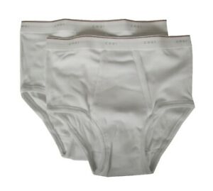 Pack of 2 ribbed men's briefs with opening CAGI article 1200