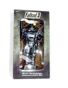 FALLOUT 3 Rare BROTHERHOOD OF STEEL STATUE / FIGURE figurine EU 76 Bethesda