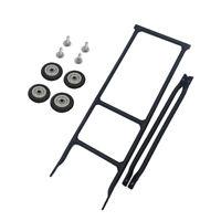 Bicycle Rack for Brompton Bike cargo racks +4pcs 50mm Easy Wheel ultralight