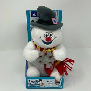 Warner Bros 2009 Frosty the Snowman Light Up Dancing Musical Plush Decoration