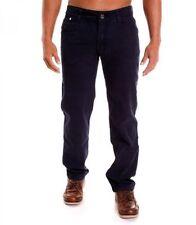 Cotton Blend Slim Fit Pants for Men