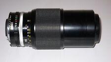 NIKON NIKKOR 80-200mm f4.5 Ai MANUAL ZOOM LENS NEAR MINT. OPTICALLY PERFECT.