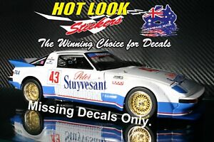 1:18 Missing Vinyl decals Allan Moffat 1982 Bathurst Mazda RX-7 Biante