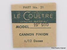 Jaeger LeCoultre Cannon Pinion Cal. 910 Part #240 21