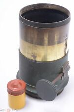 DEROGY REAR LENS ELEMENT ONLY PROJECTOR, PROJECTING BRASS RACK & PINION