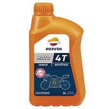 Aceite Repsol Moto Sintetico 4T 10W40   1 Litro   Lubricante   Motor   ¡24h!