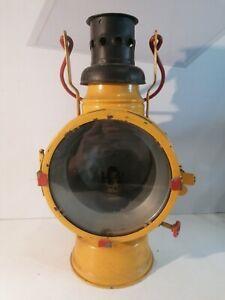 J.Kampschulte & Co. Eisenbahnlampe Petroleumlampe Metallwerke Osnabrück 1948 RAR
