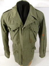 post-WWii US Army/USMC M-1950 OG-107 Field Coat Jacket - Size 38R - Dated 1950
