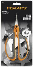 Fiskars 18cm Micro Tip Big Loop Handle Stem Trim Scissors F9476