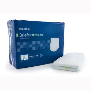 McKesson BRCLLG Regular Cloth Brief-72/Case