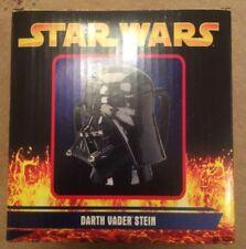 Star Wars Darth Vader Helmet Ceramic Stein / Mug With Removable Lid - New In Box