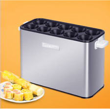 Grilled Sausage cooker Automatic Egg Roll Machine Egg Master Roll   ss