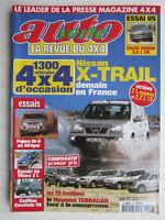 AUTO VERTE 4X4 N° 242 / X-TRAIL/PAJERO DI-D/Gd VITARA 2 L/CADILLAC ESCALADE V8