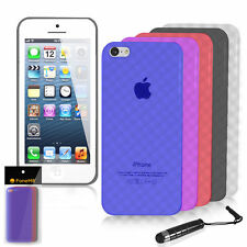 Unbranded/Generic Silicone/Gel/Rubber Patterned Mobile Phone Cases, Covers & Skins for iPhone 5c