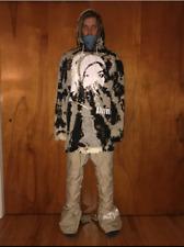 """Akrynm Tall """"Tie Dyed Alive"""" Hoodie-XLT Ski / Snowboard Hoodie"""