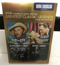 TMC Kirk Douglas (Lust for life, The Bad and the Beautiful, Before i forget) NEW