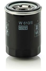 Mann-filter Oil Filter W610/6 fits HONDA ACCORD EURO CU 2.4 i (CU2)