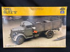 "VINTAGE 1979 TESTORS/ITALERI Model OPEL BLITZ ""S""  Kit #824"