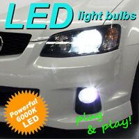 H10 6000K LED Light Bulb Kit to Suit Holden VE Series 2 II SV6 SS SSV Fog Lights