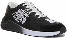 Guess Fm5Moafab1 Modena Active Lace Up Trainer In Black White Size UK 6 - 12